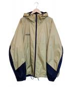 Columbia(コロンビア)の古着「ウォータープルーフフーデッドジャケット」 ベージュ