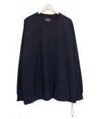 DAIWA PIER39(ダイワピア39)の古着「プルオーバーシャツ」|ブラック
