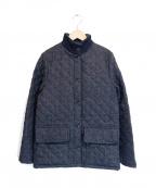 MACKINTOSH()の古着「ウールキルティングコート」 グレー