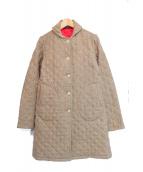 MACKINTOSH(マッキントッシュ)の古着「ウールキルティングコート」|ベージュ