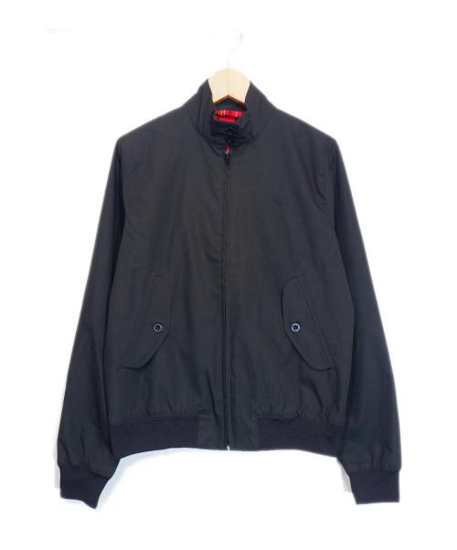 FRED PERRY(フレッドペリー)FRED PERRY (フレッドペリー) ハリントンジャケット ブラック サイズ:8の古着・服飾アイテム