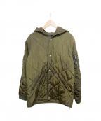 STAMPD(スタンプド)の古着「キルティングコート」|カーキ