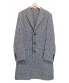 JOSEPH HOMME(ジョセフオム)の古着「チェスターコート」|グレー
