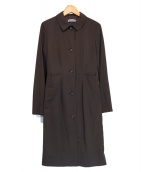 JIL SANDER(ジルサンダー)の古着「コート」|ブラウン