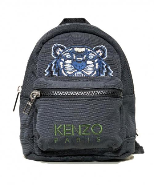 KENZO(ケンゾー)KENZO (ケンゾー) タイガー刺繍ミニリュック グリーン サイズ:採寸の古着・服飾アイテム