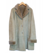LOEWE(ロエベ)の古着「ラムムートンコート」 グリーン