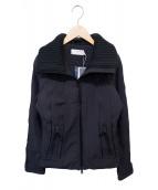 STELLA McCARTNEY(ステラマッカートニー)の古着「パイピングジャケット」|ブラック