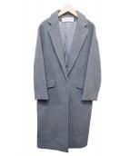 THE SHINZONE(ザ シンゾーン)の古着「オーバーチェスターコート」|グレー
