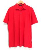 Zanone(ザノーネ)の古着「ポロシャツ」|レッド