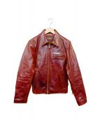 B-McCOYS(ビーマッコイズ)の古着「A-2フライトレザージャケット」|レッド
