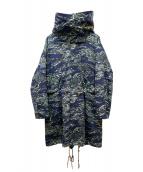 N.HOOLYWOOD(エヌハリウッド)の古着「FALL2019 M-65 PARKA」 グリーン