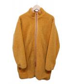 BEAMS(ビームス)の古着「ボアロングコート」 ブラウン