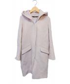BARNYARDSTORM(バンヤードストーム)の古着「フーデッドコート」|ピンク