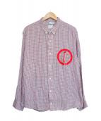 VISVIM(ヴィズヴィム)の古着「JUNEAU WELD SHIRT L/S/チェックシャツ」 レッド