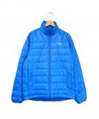 Lowe Alpine(ロウアルパイン)の古着「ライトダウンジャケット」 ブルー