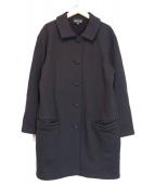 agnes b(アニエスベー)の古着「スウェットコート」|ブラック