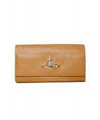 Vivienne Westwood(ヴィヴィアンウエストウッド)の古着「長財布」 ベージュ