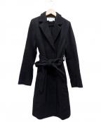 MUVEIL Work(ミュベールワーク)の古着「ウールコート」 ブラック
