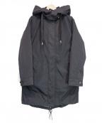 MICHEL KLEIN(ミッシェルクラン)の古着「ダウンライナー付き5WAYモッズコート」|ブラック