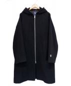 ORCIVAL(オーシバル)の古着「ジップフーデッドコート NLM」|ブラック