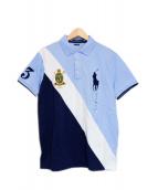 POLO RALPH LAUREN(ポロラルフローレン)の古着「ポロシャツ」|ブルー