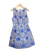 alice+olivia(アリスアンドオリビア)の古着「カクテルドレス」 ブルー