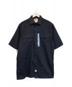 CarHartt(カーハート)の古着「S/Sワークシャツ」|ブラック