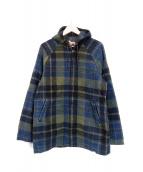 WOOLRICH(ウールリッチ)の古着「フーデッドコート」|グリーン