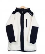 GERRY(ジェリー)の古着「ボアフーディジャケット」|ホワイト