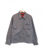 TENDERLOIN(テンダーロイン)の古着「ジップアップジャケット」|グレー
