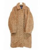 SLY(スライ)の古着「AIR BOA LONG COAT/ボアロングコート」|ブラウン