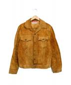 LEVIS(リーバイス)の古着「スウェードトラッカージャケット」