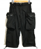 comfy(コンフィー)の古着「テックカーゴパンツ」 ブラック