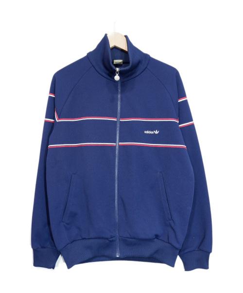 adidas(アディダス)adidas (アディダス) トラックジャケット ネイビー サイズ:L 80s デサント期の古着・服飾アイテム