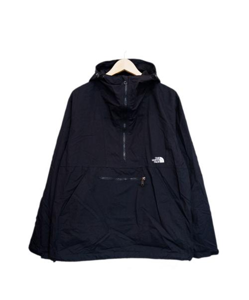 THE NORTH FACE(ザ ノース フェイス)THE NORTH FACE (ザノースフェイス) コンパクトアノラック ブラック サイズ:M Compact Anorak NP21735の古着・服飾アイテム