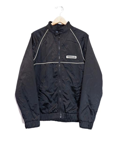 TENDERLOIN(テンダーロイン)TENDERLOIN (テンダーロイン) ワッペンナイロンジャケット ブラック サイズ:Mの古着・服飾アイテム