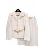 CELINE(セリーヌ)の古着「ヴィンテージセットアップ」|ピンク