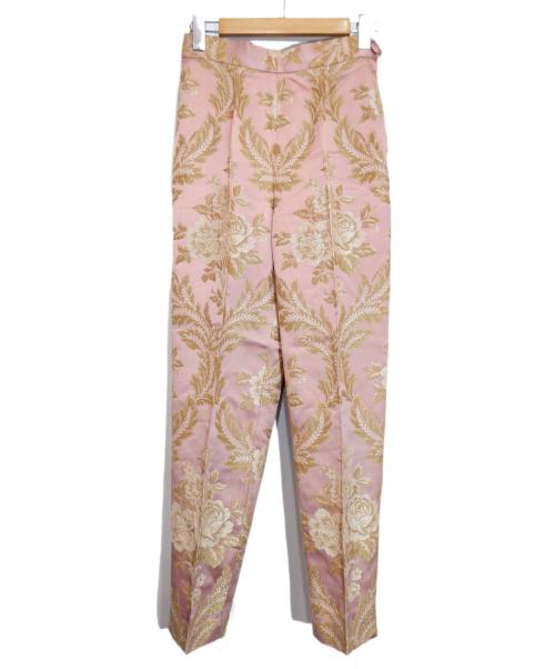 MOSCHINO(モスキーノ)MOSCHINO (モスキーノ) 和織パンツ ピンク サイズ:42の古着・服飾アイテム