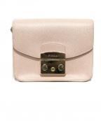 FURLA()の古着「メトロポリスミニクロスショルダーバッグ」|ピンク