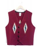 ORTEGAS(オルテガ)の古着「チマヨベスト」|ボルドー