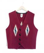 ORTEGAS(オルテガ)の古着「チマヨベスト」 ボルドー
