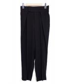 ADORE(アドーア)の古着「ボアリージョーゼットパンツ」|ブラック