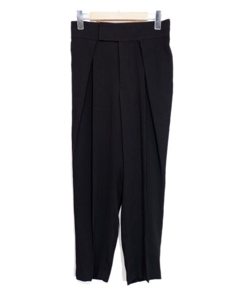 ADORE(アドーア)ADORE (アドーア) ボアリージョーゼットパンツ ブラック サイズ:36の古着・服飾アイテム
