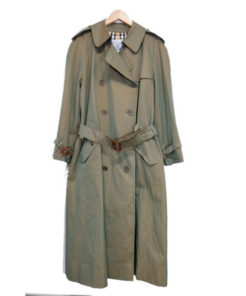 Burberrys(バーバリーズ)Burberrys (バーバリーズ) 90Sオールドトレンチコート オリーブ サイズ:採寸 玉虫色の古着・服飾アイテム