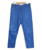 WESTOVERALLS(ウエストオーバーオールズ)の古着「806T DENIM TAPERED/デニムパンツ」 ブルー