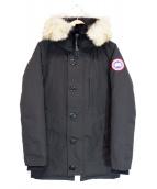 ()の古着「JASPER/ダウンコート」 ブラック