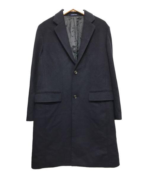 URBAN RESEARCH(アーバンリサーチ)URBAN RESEARCH (アーバンリサーチ) CHESTER FIELD COAT ネイビー サイズ:Mの古着・服飾アイテム