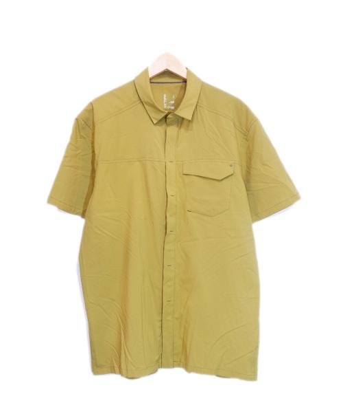 ARCTERYX(アークテリクス)ARCTERYX (アークテリクス) スカイラインショートスリーブシャツ ブラウン サイズ:L Skyline SS Shirtの古着・服飾アイテム