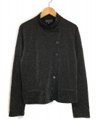 ()の古着「ラメショートジャケット」|ブラック
