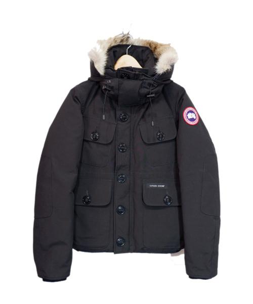 CANADA GOOSE(カナダグース)CANADA GOOSE (カナダグース) RUSSEL PARKA/ダウンジャケット ブラック サイズ:XS 2301JM 20AW購入品の古着・服飾アイテム